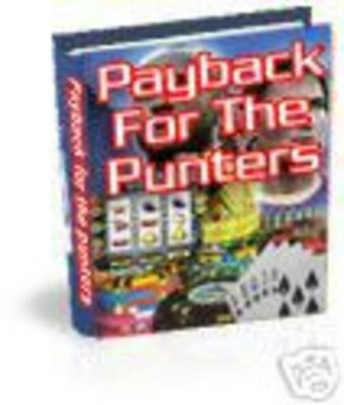 Product picture Payback for the Punters